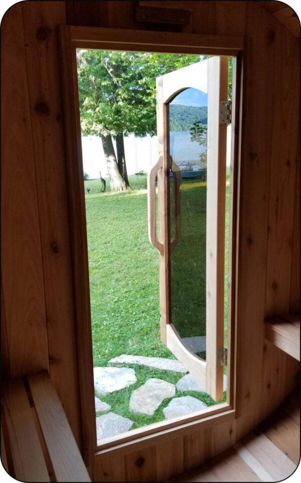 Barrel-Sauna-Door