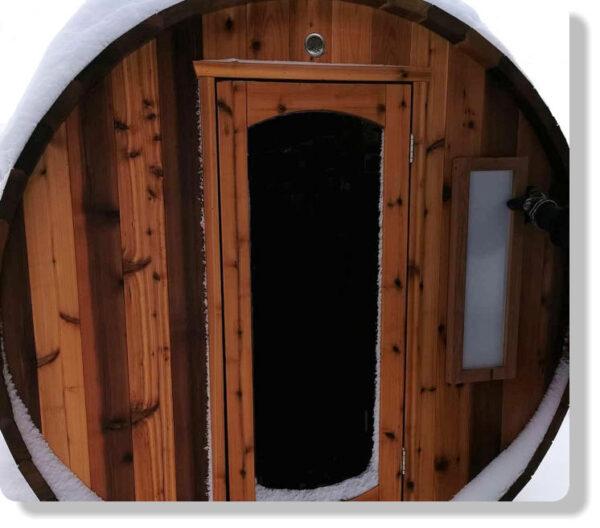 Fenetre Sauna BarilBarrel Sauna Windoe9x27